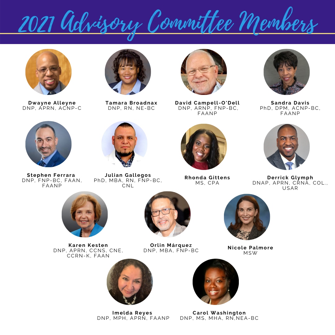 DNPs of Color Announces Inaugural Advisory Committee Members