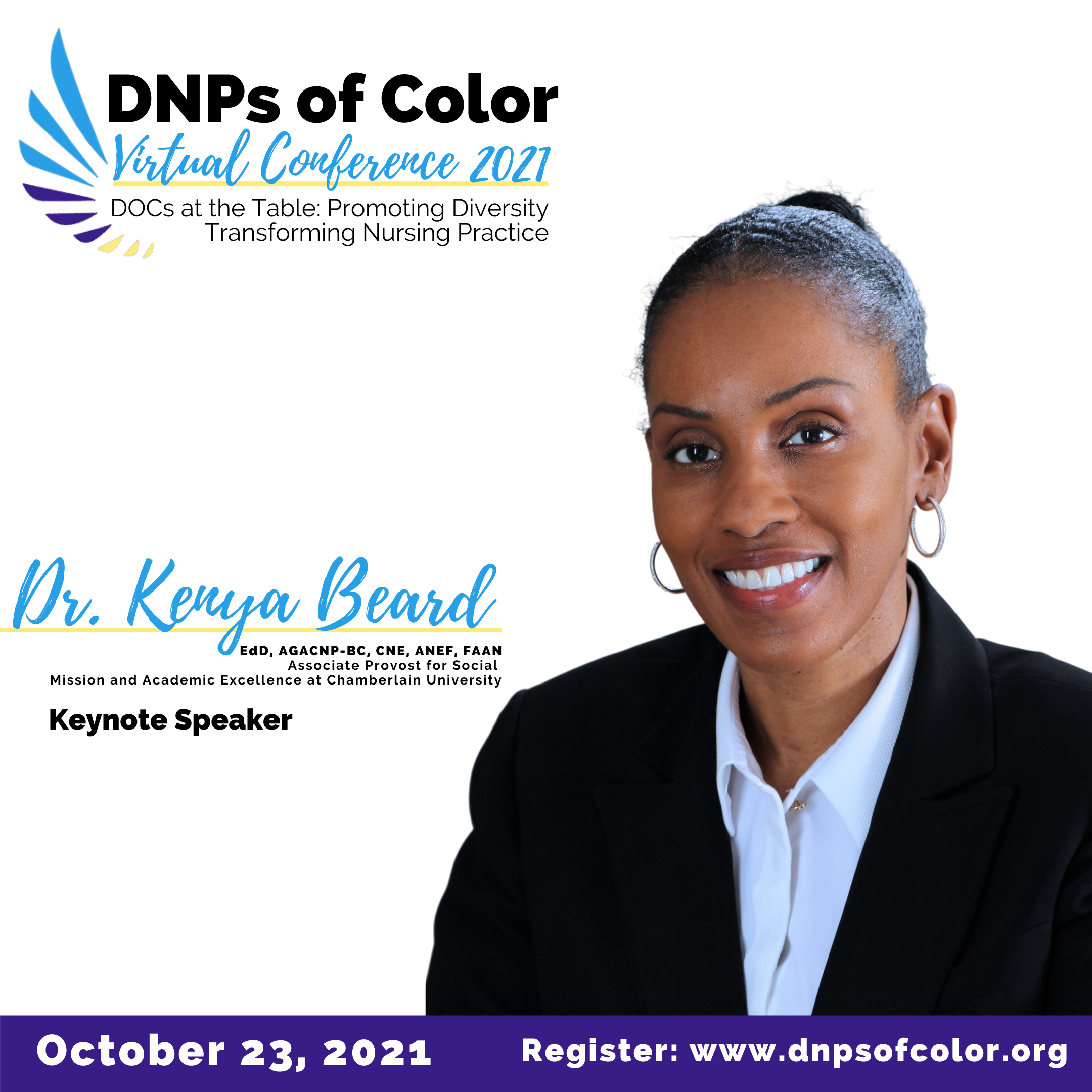 DNPs of Color Hosts Inaugural Virtual Conference